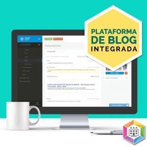 Plataforma de blog embarcada
